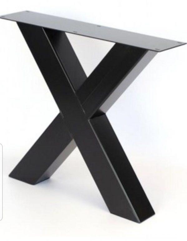 Base tavolo Gambe ferro Steel Table stile industriale