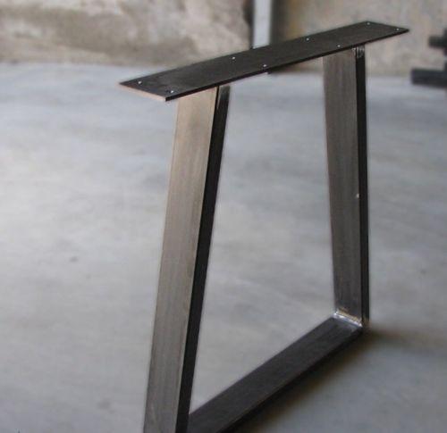Steel Table X2 Gambe per tavolo Ufficio Salotto Cucina