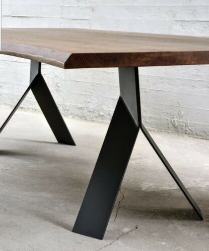 Base tavolo X 2 Piedi stile industriale Colore A Scelta