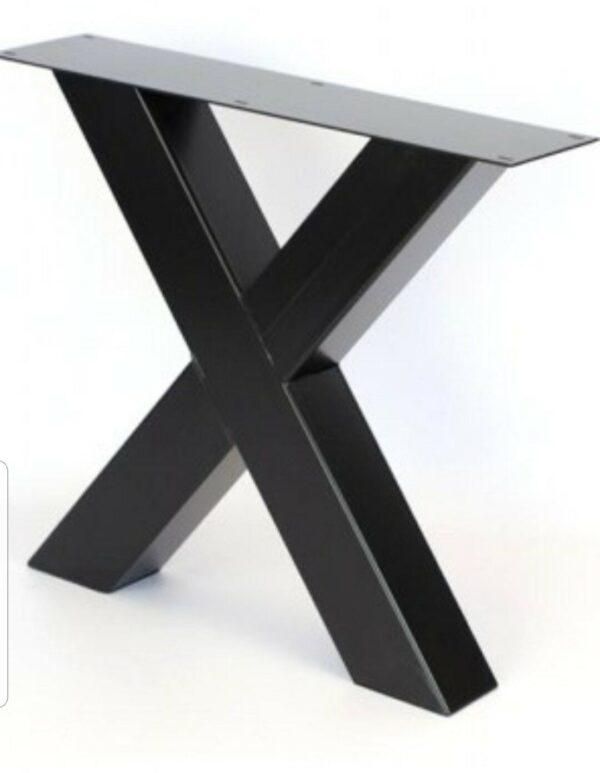 Base tavolo X 2 Piedi stile industriale
