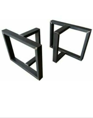 Base tavolo Gambe X2 Steel Table ferro stile industriale forma T