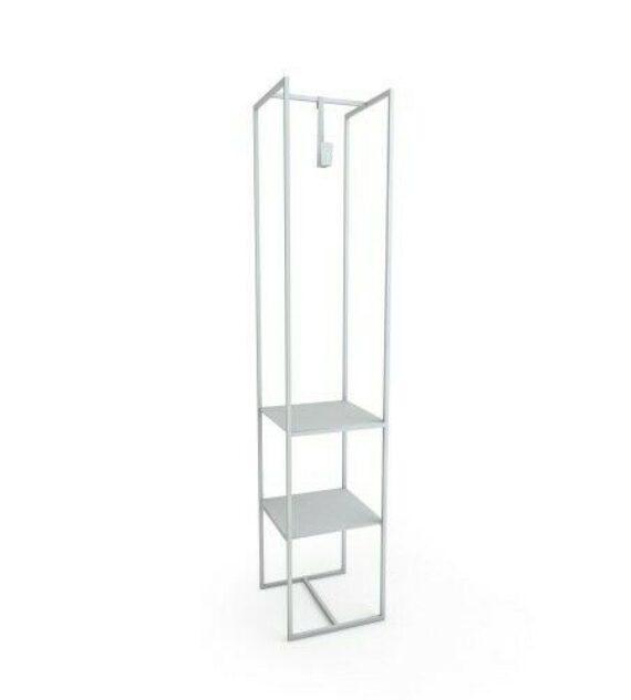 Libreria Lamiera acciaio Design Moderno con 2 o più Ripiani anche su misura.