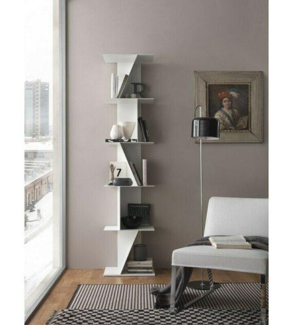 Scaffale Libreria a scaletta Design Moderno anche su misura